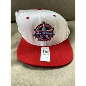 Texas Rangers New Era Vintage Hat 1998 Champion